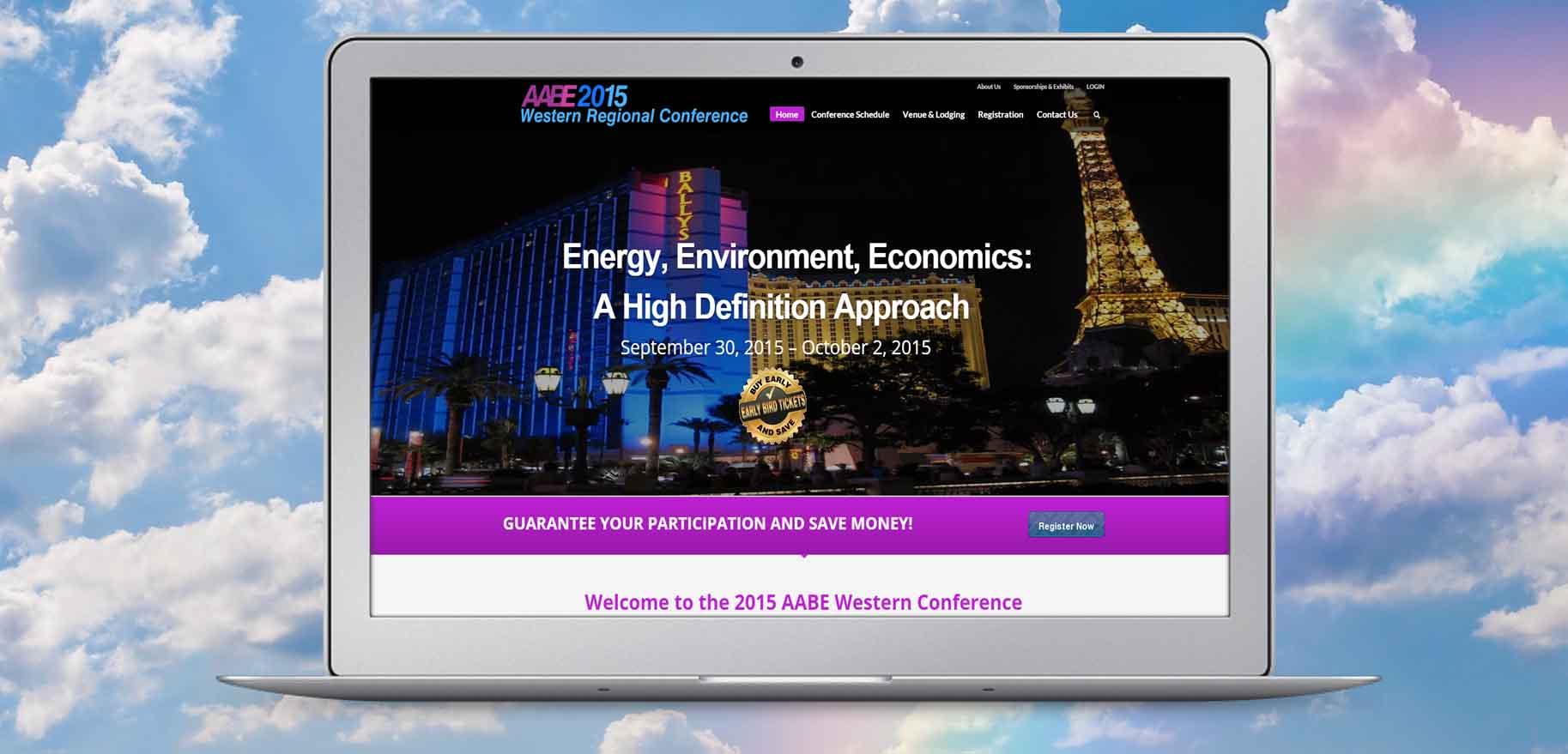 Event Website Sample