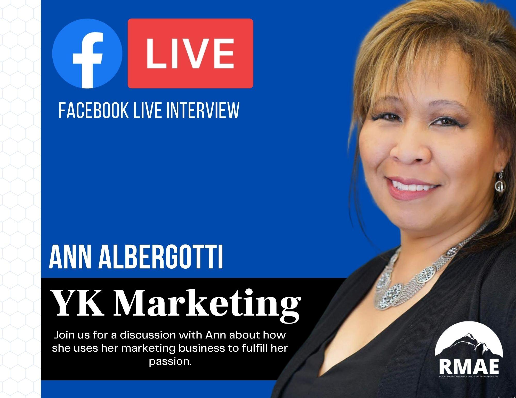 Facebook Live Interview YK